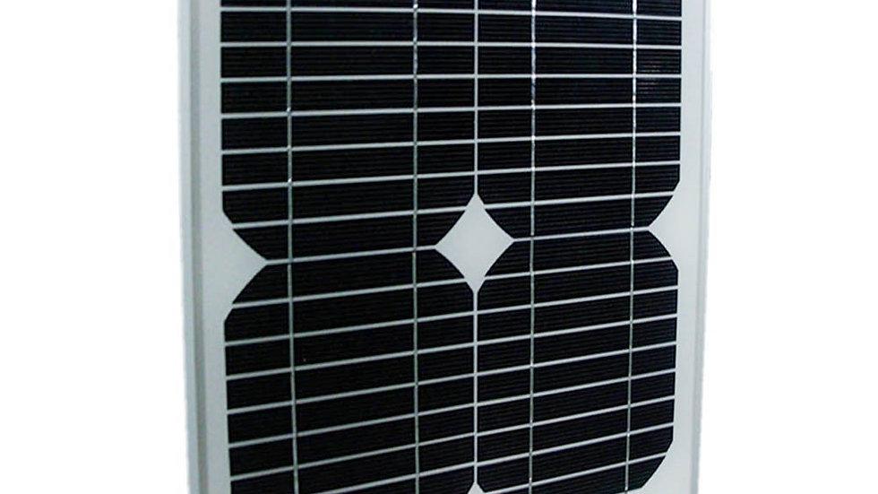 Panel Solar Fotovoltaico 10W 12V Monocristalino