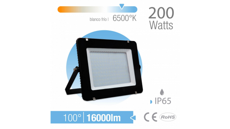 REFLECTOR LED 200W EXTERIOR IP65 BLANCO Frio