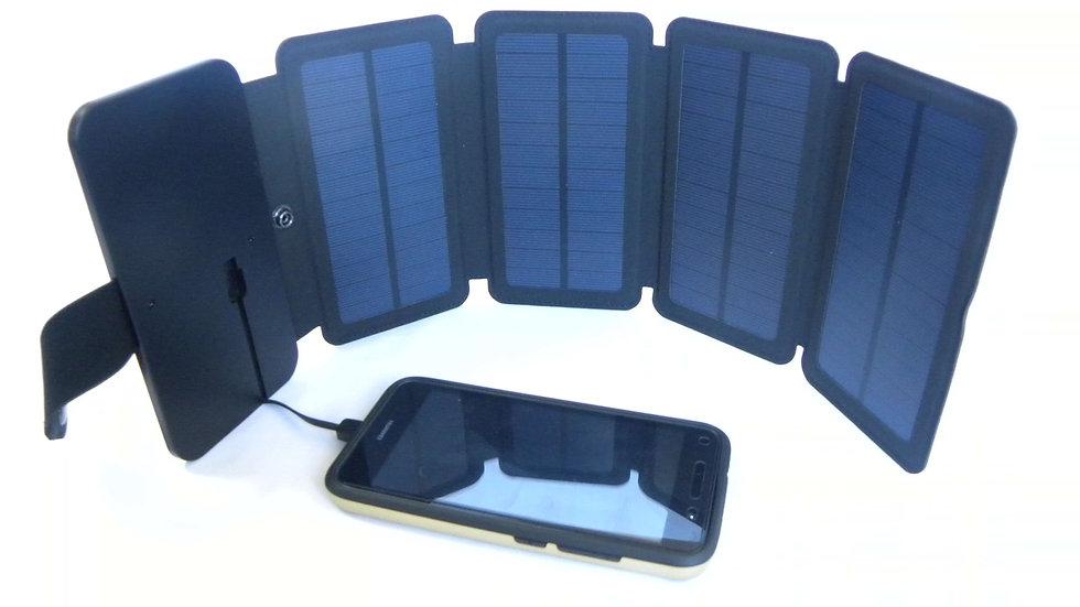 Panel Solar 5w  Plegable con 1 puerto USB