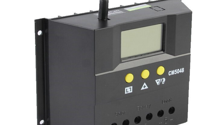 Controlador Regulador Solar 48V 50A