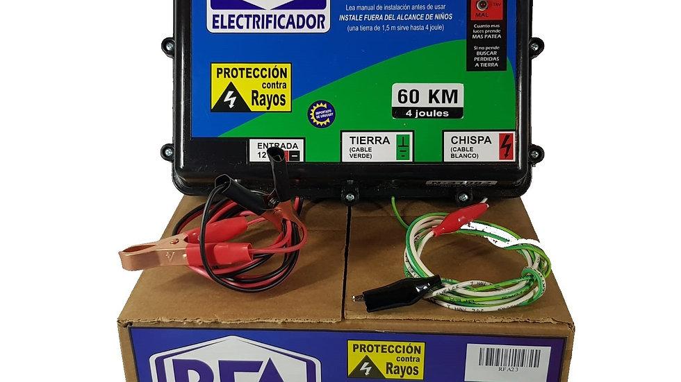 RFA Electrificador Solar 60Km 12V