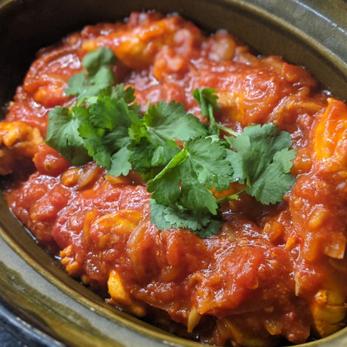 Tomato Sambal Chicken