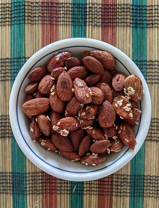 Sweet Sambalicious Almonds