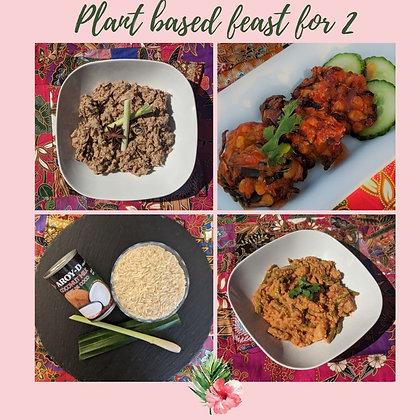 Dinner for 2 (plant-based)