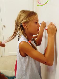 Рисуем на стенах