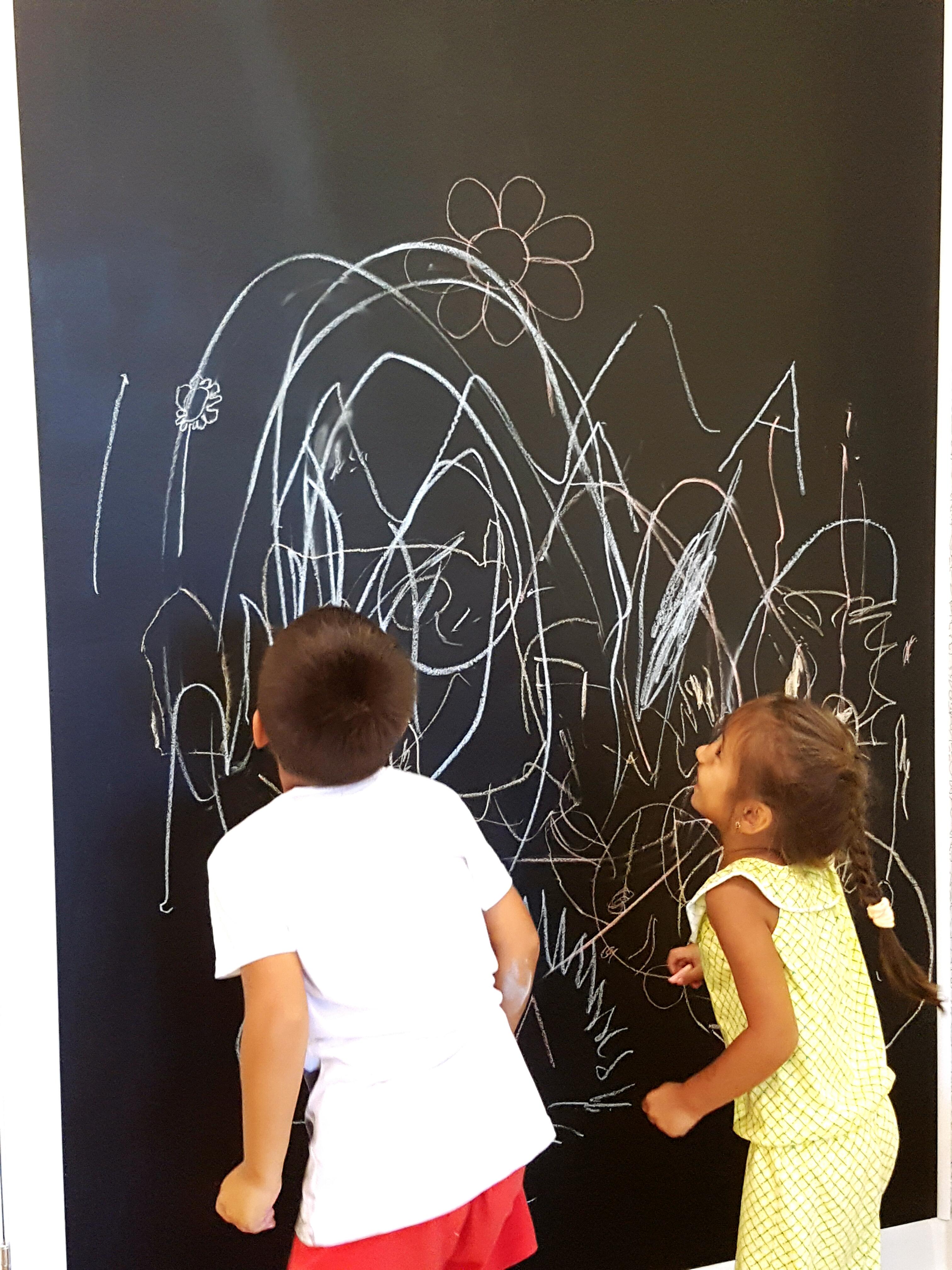 123 академия рисуем на стенах