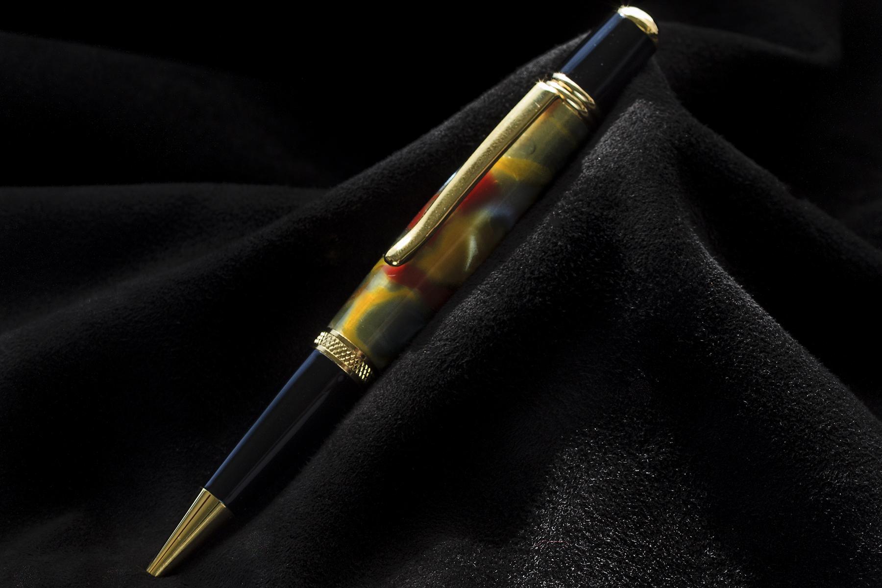 Bolígrafo en Resina Multicolor