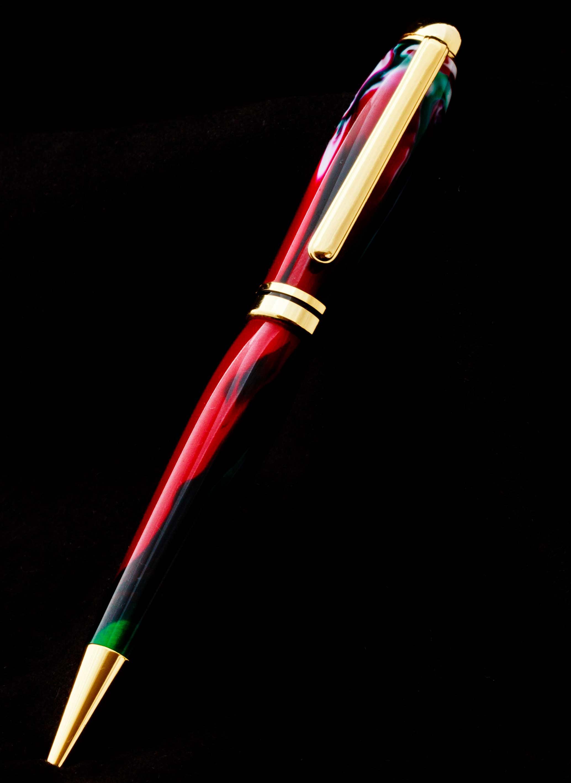 Bolígrafo tricolor