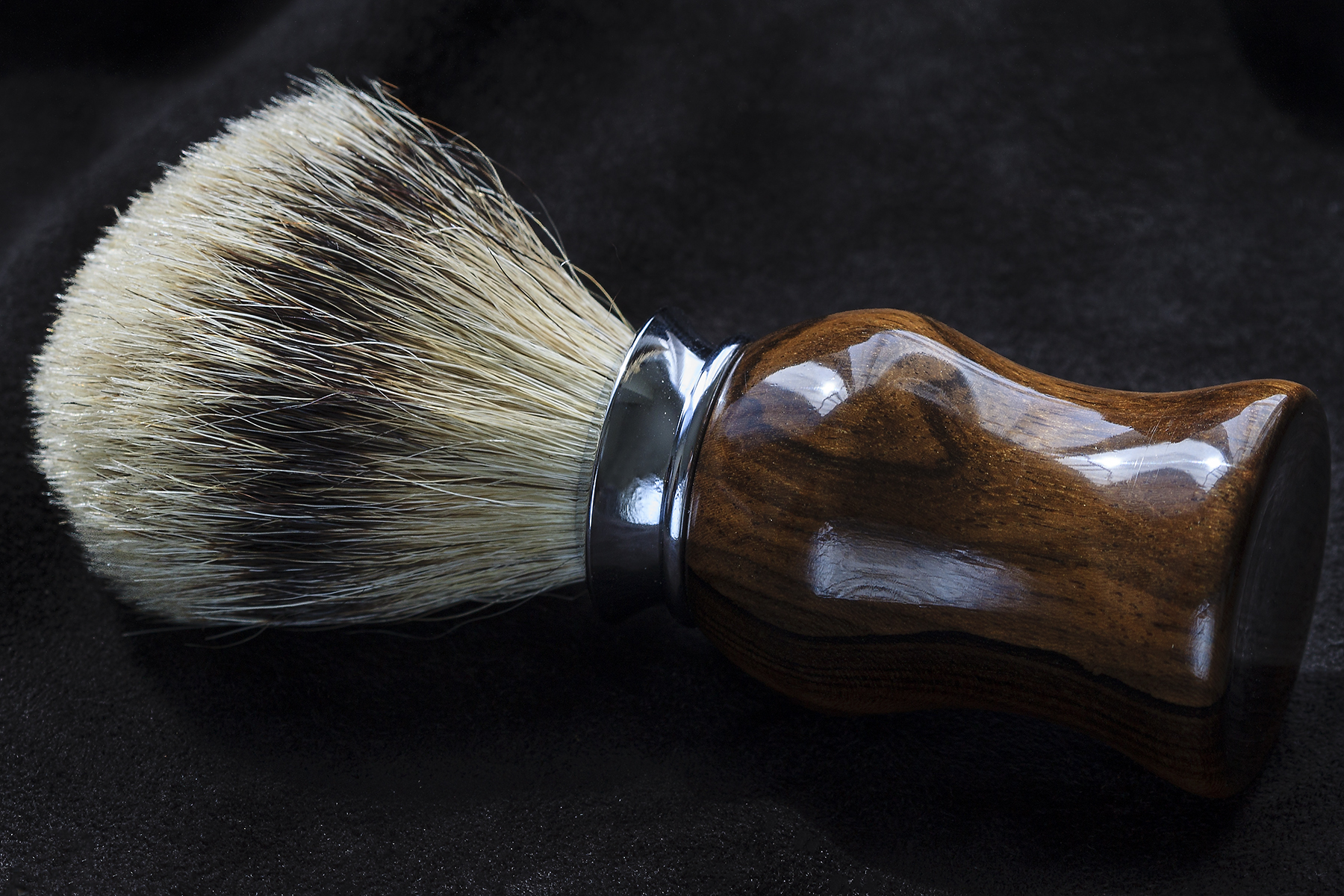 Brocha Silver-Tip Badger