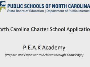 Proposed P.E.A.K. Academy Charter School to address achievement gap