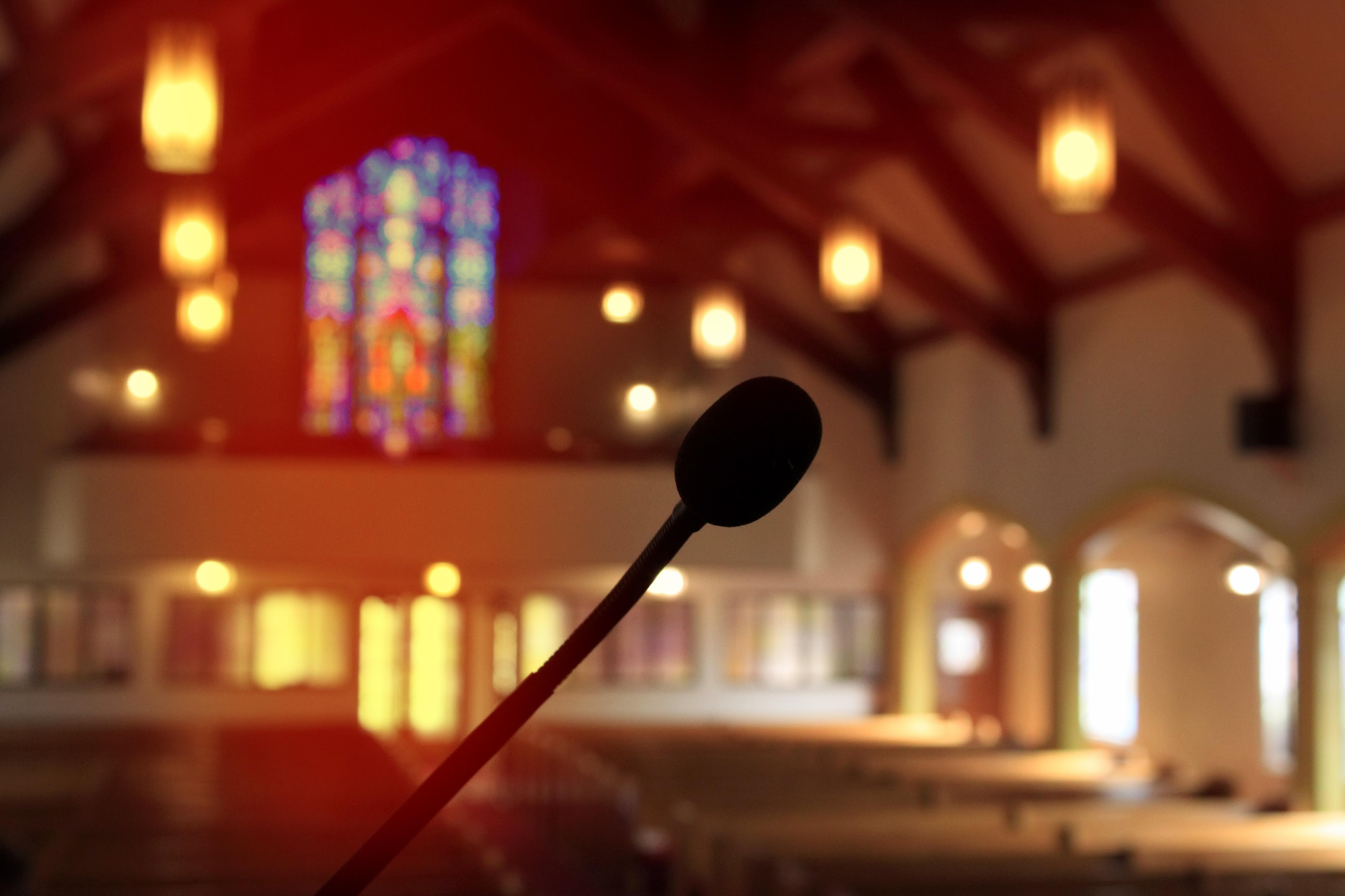 Crerar Church Inside Mic
