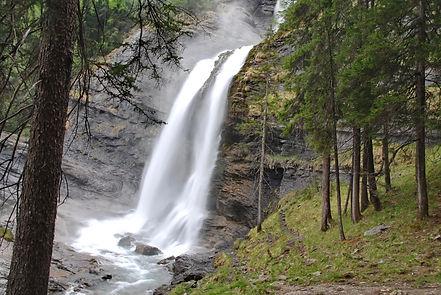 En Haute Savoie, la Cascade du Rouget.