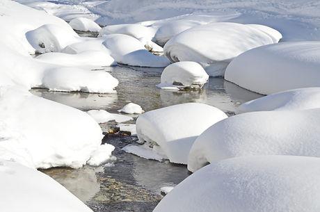 Eau froide, Rivière Arc en Haute Maurienne.