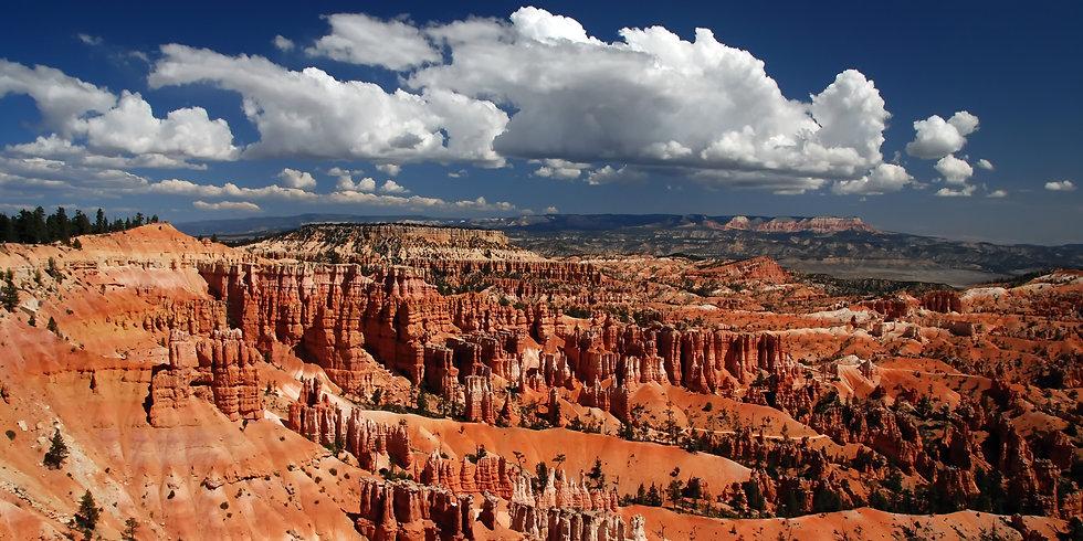 En Utah, Bryce Canyon, une des merveilles de la nature.