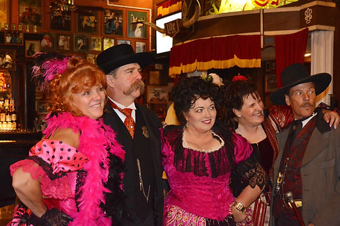 "Au ""Big Nose Kate's Saloon"" à Tombstone Arizona."