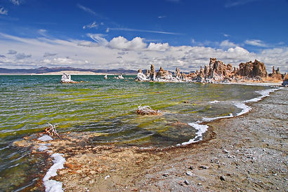 En Californie, Eastern Sierra, Mono Lake.