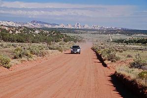 En Utah, aventure sur Notom Road, à n'emprunter que par beau temps.