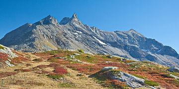 Fin septembre au Petit Mont Cenis en Haute Maurienne.