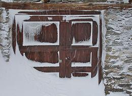 Bonneval en haute Maurienne, après la tempête de neige.