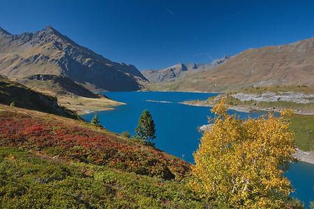 Automne au Mont Cenis en Haute Maurienne.