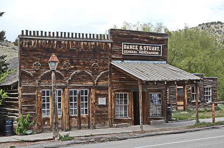 Témoin de la ruée vers l'or à Nevada City dans le Montana.
