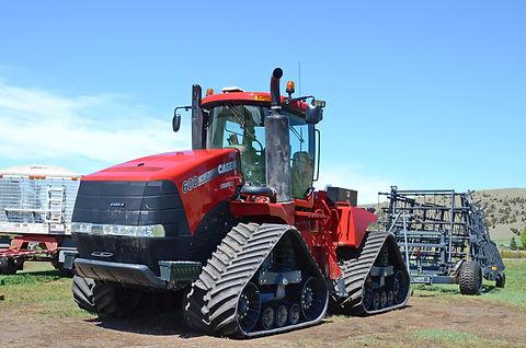 Dans le Montana, tracteur Case 600 de 2013 et 600 ch.
