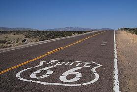Route 66 quelque part en Arizona.