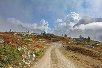 Couleurs d'automne au Petit Mont Cenis en Haute Maurienne.