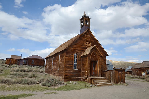 Bodie, l'église.