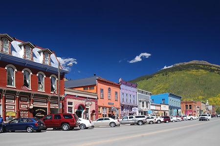 Silverto Colorado, la rue principale.