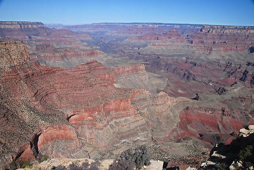Le Grand Canyon du Colorado, véritable livre de géologie à ciel ouvert.