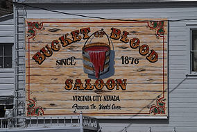 Virginia City Nevada, Saloon de sinistre mémoire.