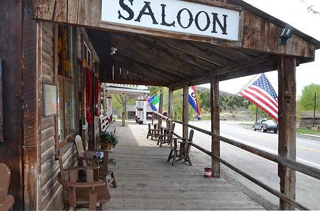 Virginia City au Montana, Saloon des années 1860.