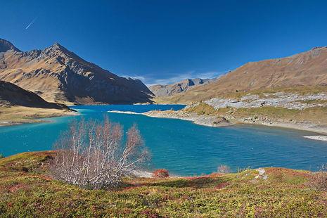 Début octobre au Mont Cenis en Haute Maurienne.