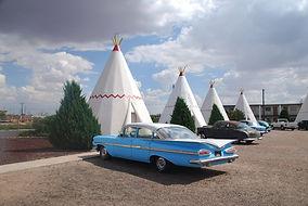 """""""Wigwam Motel"""" à Holbrook, Arizona."""