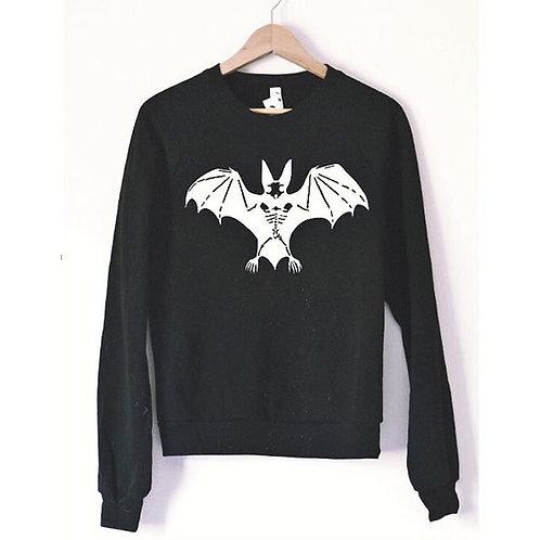 Bat Skeleton Unisex Sweatshirt