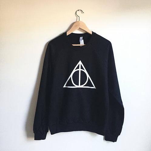 (defect) Deathly Hallows Unisex Sweatshirt size M