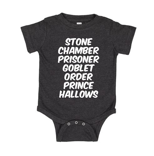 The Original Harry Potter Books Infant Bodysuit
