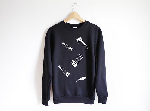 Instruments to Die By Unisex Sweatshirt