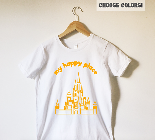 My Happy Place Tee Shirt