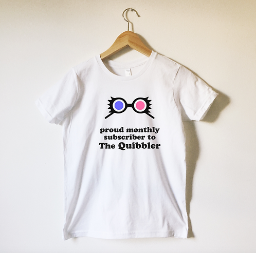 Quibbler Subscriber Tee Shirt