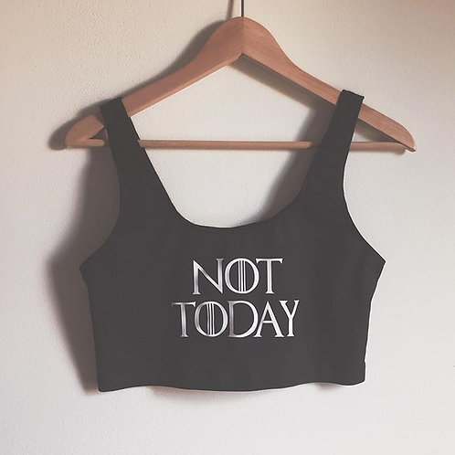 Not Today Crop Tank
