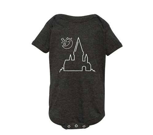 Halloween at Hogwarts Infant Bodysuit - inspired by Harry Potter