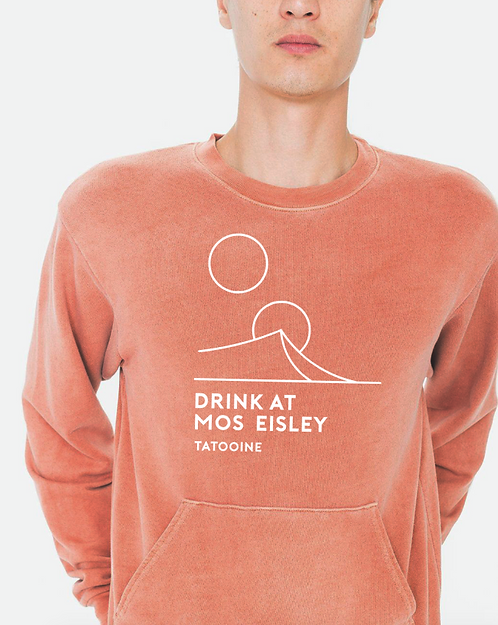 Drink at Mos Eisley Sweatshirt in Clay with Pocket
