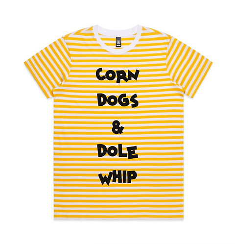 Corn Dogs & Dole Whip Tee Shirt