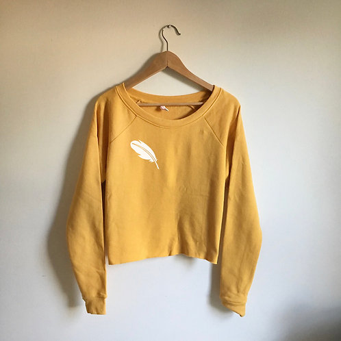 Quill Cropped Sweatshirt