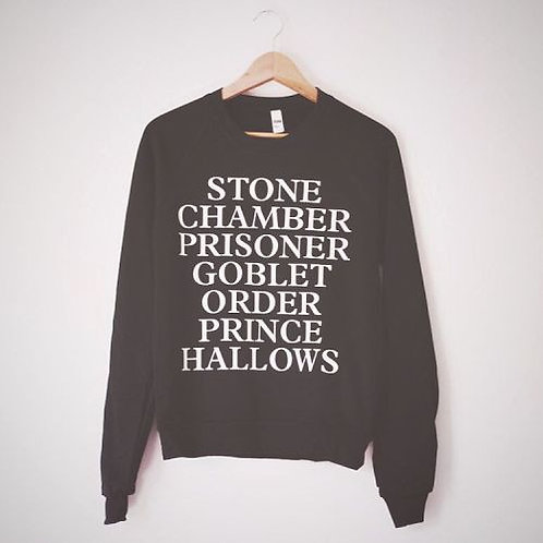 The Original Harry Potter Books Sweatshirt