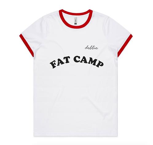 Customizable Fat Camp Tee Shirt