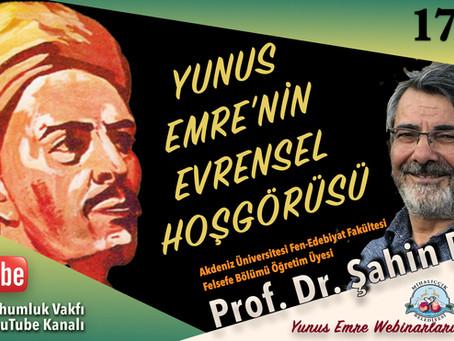 Prof. Dr. Şahin Filiz | Yunus Emre Eğitim Webinarı - 5