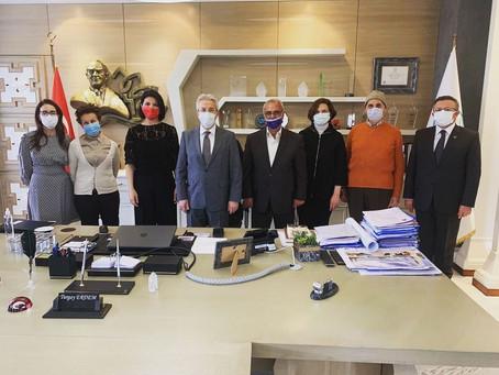 Tohumluk Vakfı Başkanı Pınar Ayhan, Bursa'da...